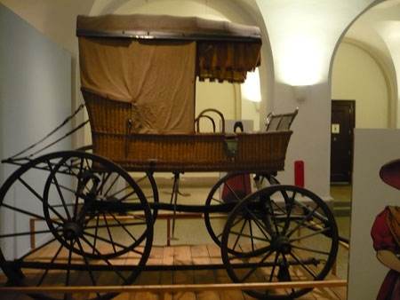 Carriage that Transported Lafayette in 1825