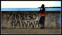 Hello Hawwa...!! (Mohamed.Ahsan) Tags: man standing phone sony number calling maldives hawwa alpha700 shmpoo mohamedahsan