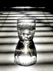Glass  Water  Light  Shadow