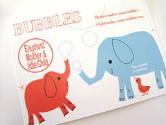 Shinzi Katoh  -Elephant Postcard- (Warm 'n Fuzzy) Tags: elephant cute illustration duck postcard kawaii elephants zakka shinzikatoh