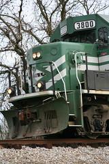 IMG_4921 (TeamHuerta) Tags: green train spring kentucky ky traintracks 2008 3800 vinegrove