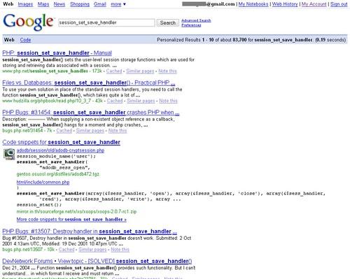Google Code Onebox
