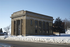Jewel box bank, La Dora, IA