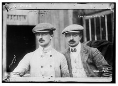 [The Voisin brothers, French aviation pioneers. Gabriel Voisin (1880-1973), on the left, and Charles Voisin (1882-1912), on the right]  (LOC) (The Library of Congress) Tags: france aviation libraryofcongress aviators rains voisin georgegranthambaincollection xmlns:dc=httppurlorgdcelements11 georgegranthambain bainnewsservice charlesvoisin gabrielvoisin dc:identifier=httphdllocgovlocpnpggbain10940 voisinfreres greatmustachesoftheloc hmanuelphotographerparis aroplanesvoisin voisinbrothers