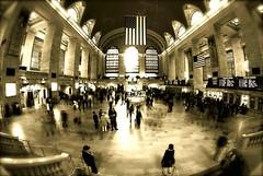 oh, say can you see... (alternativefocus) Tags: nyc newyork station timelapse pentax grandcentral starsandstripes aficionados ohsaycanyousee pentaxk10d alternativefocus