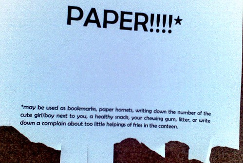 Free strips of paper!!!!