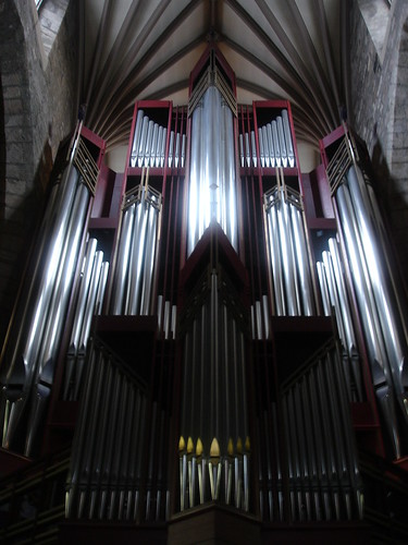 The great organ at St. Giles Cathedral.