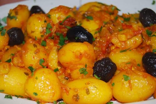 aardappeltjes met saffraan