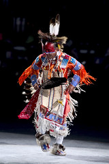2005 Powwow (Smithsonian Institution) Tags: beads dance dancing native indian feathers feather fringe dancer nativeamerican ritual bandana facepaint clawfoot nationalmuseumoftheamericanindian americanindian mocassins warpaint headdress beadwork powwow smithsonianinstitution traditionaldance headress maledancer colorphotograph dancecostume tribaldress indianpowwow early21stcentury redfacepaint dancingindian americanindiandance beadedcostume