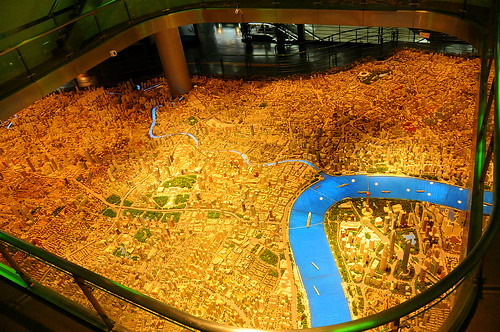 Model of the Shanghai of the Future