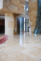 taken just before my camera was so abruptly taken from me and placed in a sealed plastic bag (martinadamato) Tags: spain bilbao guggenheim