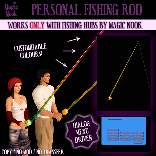 * Magic Nook * Personal Fishing Rod