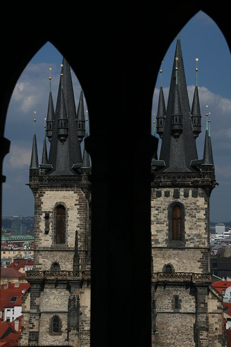 The Twin Towers of Týn