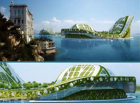2569679285 50245be2f6 Future Architecture : Floating Ecopolis for Climate Refugees
