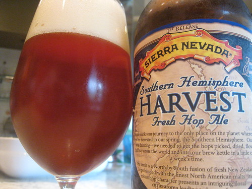 Sierra Nevada Southern Hemisphere Harvest Fresh Hop Ale