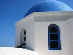 伊亞的藍頂教堂 (1)