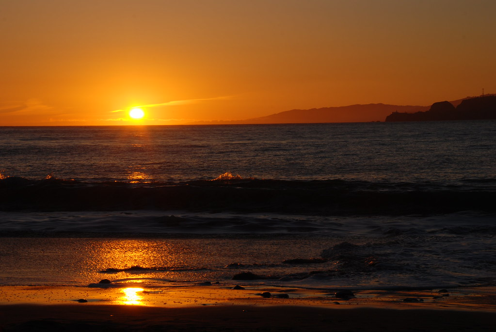 China Beach Sunset