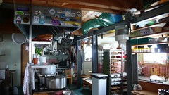 Cosmiques hut - the kitchen (chaletlaforet) Tags: mountaineering chamonix aiguilledumidi cosmiquesarête