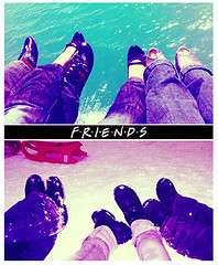 {F} R I    S ( xtraordinary) Tags: blue girls friends sea white snow love ice me fun crazy shoes moments all legs you outdoor d lol joy n s jeans together f r e someone forever lovely extraordinary yaay