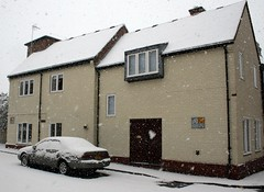 A Snowy Easter Day 094-1 (Richie Wisbey) Tags: old white snow home abbey st gardens easter town bury suffolk big ruins soft day fat slush richard debbie now edmunds wisbey