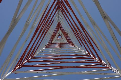 Cass County, Iowa communications tower by cmlburnett