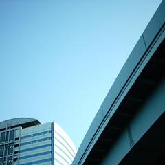 【写真】ミニデジで撮影したニューピア竹芝サウスタワー