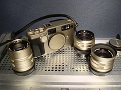 Contax G2 + Carl Zeiss 28, 45. 90mm lenses (digitalbear) Tags: japan tokyo contax g2 kyocera carlzeiss contaxg2