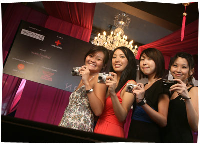 Doing The Karen Cheng in Singapore - Charity Event