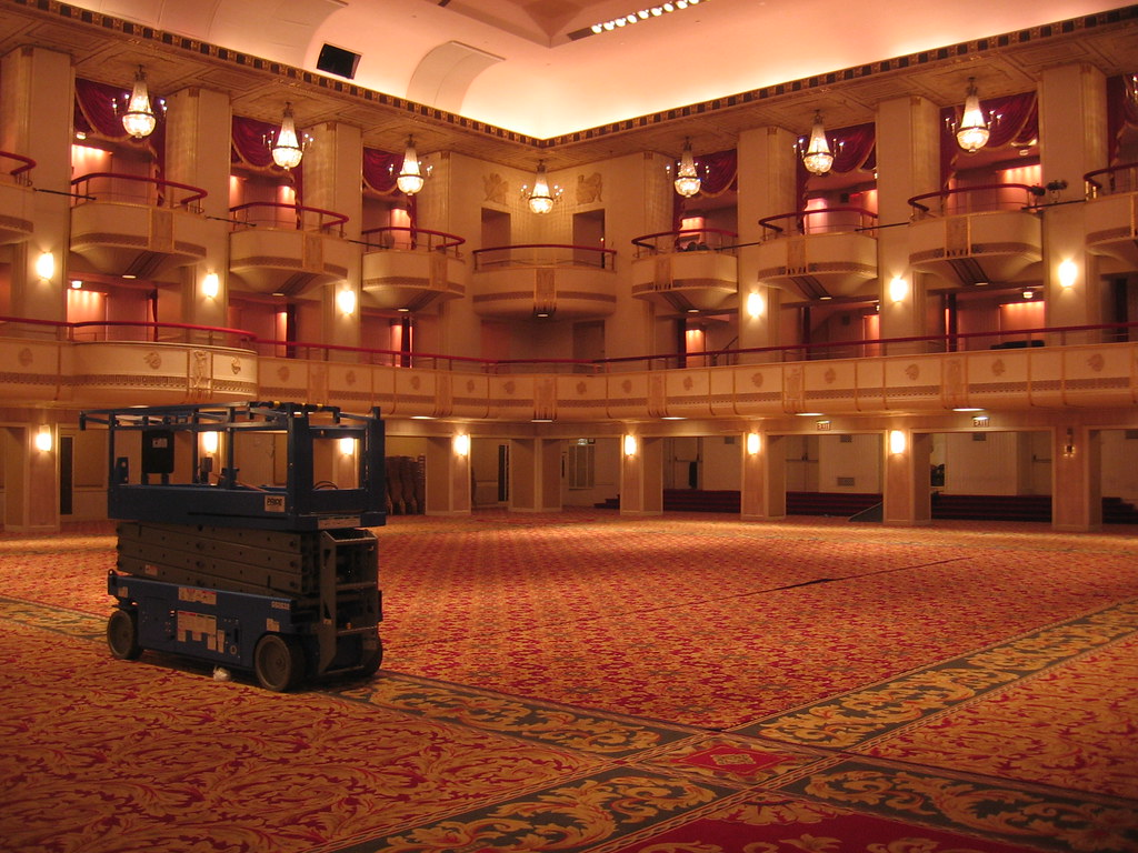 Waldorf-Astoria Hotel ballroom