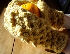 Stubborn Maiden Mittens for Vogue