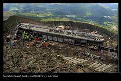 Snowdon Summit Cafe (Paul Sivyer) Tags: france mountains alps paul snowdon llanberis wildwales sivyer