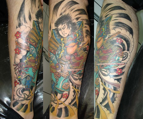 samurai caio by tattoo invaders