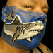 Great White Shark! Facepainting Mini Movie! por hawhawjames