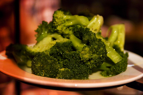 Curried Steamed Broccoli