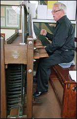 carilloneur (Brian Negus) Tags: keyboard bell leicestershire queenspark taylor loughborough carillon carilloneur trevorworkman