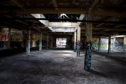 Abandonded Warehouse Montreal
