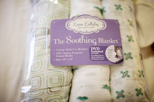 My Favorite Things: Luna Lullaby Swaddling Blankets ...