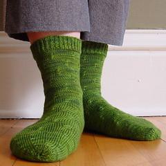 Farfalle socks 4