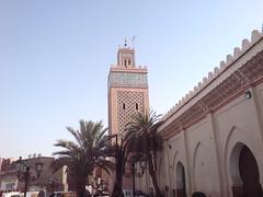 Marrakech Marrki  La Koutoubia (Ibliskov - Flucua Nc Mgiu) Tags: minaret marrakech mosquee koutoubia  marrki