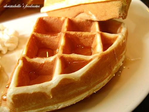 加爾地咖啡蜂蜜鬆餅