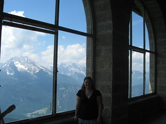 At the famous window (phantomsangel_erik) Tags: germany berchtesgaden nazis eaglesnest