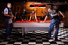 wingmen mc (bradwenner.com) Tags: pool bar club mc motorcycle billiards biker savannah wingmen
