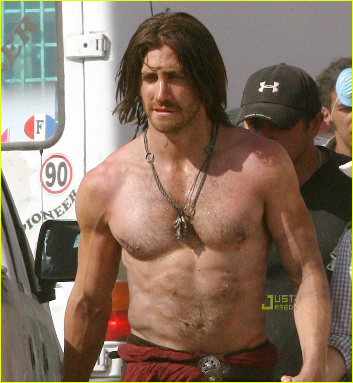 sexy Jake Gyllenhaal musculoso