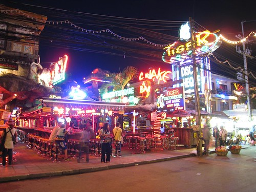 Tiger disco on Bangla Rd
