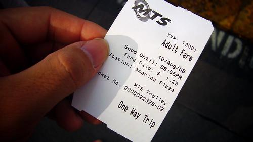 不太驗票的歐美式大眾運輸票 (by Roca Chang)