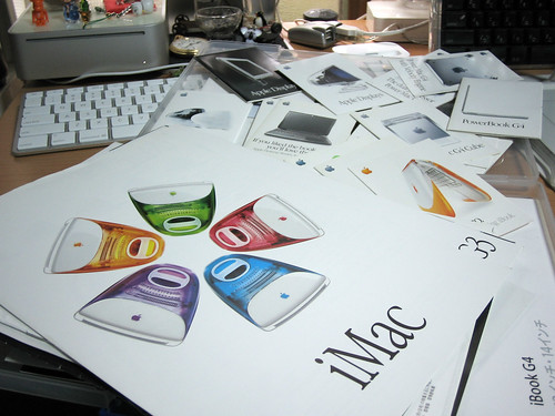 A catalogue of iMac.... and of others