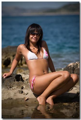 Dani in bikini