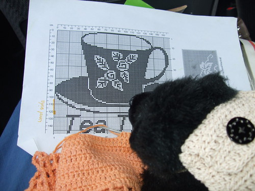 Luna bear with crochet pattern