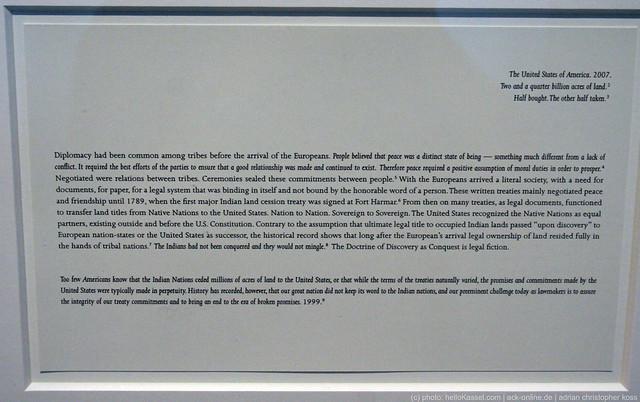 documenta 12  Andrea Geyer  Spiral Lands  2007  Neue Galerie 2 floor  01 by ack-onlinede