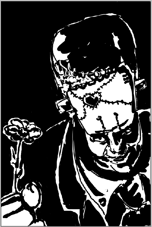 SUPER Stylised Challenge - September 2008 - Frankenstein's Monster / Science Mishap